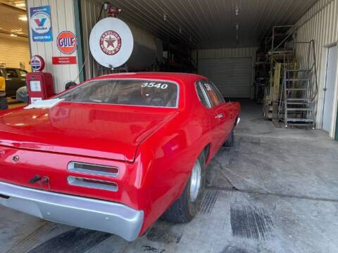 1970 Plymouth Duster for sale at Classic Car Deals in Cadillac MI