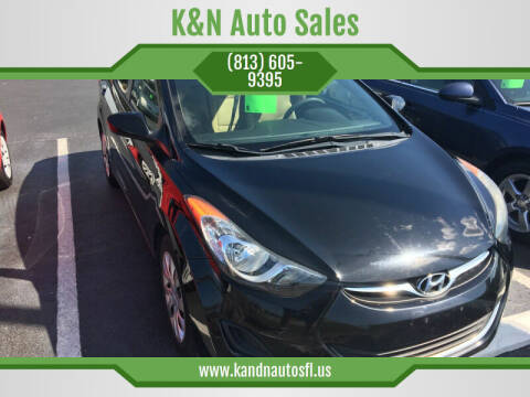 2012 Hyundai Elantra for sale at K&N Auto Sales in Tampa FL