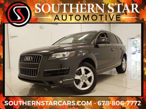 2012 Audi Q7 for sale at Southern Star Automotive, Inc. in Duluth GA