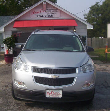 2011 Chevrolet Traverse for sale at PAUL'S PAINT & BODY SHOP in Des Moines IA