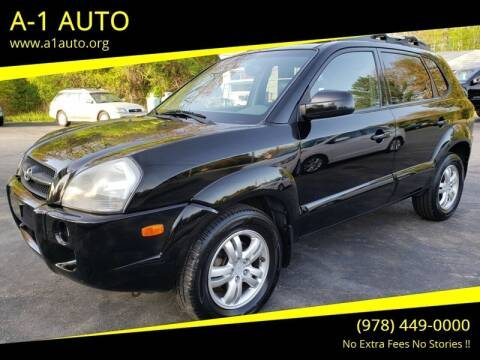 2007 Hyundai Tucson for sale at A-1 Auto in Pepperell MA