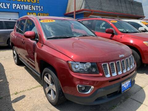 2016 Jeep Compass for sale at Eagle Motors in Hamilton OH