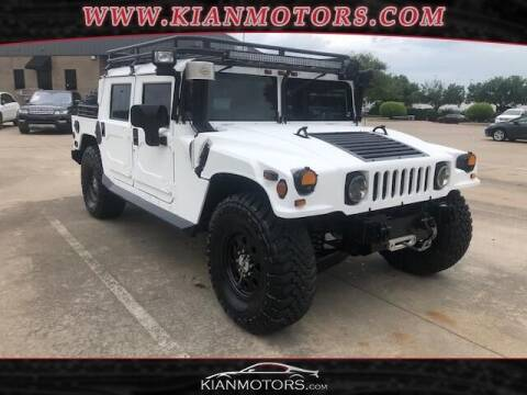 1999 AM General Hummer for sale at KIAN MOTORS INC in Plano TX