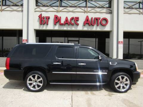 2009 Cadillac Escalade ESV for sale at First Place Auto Ctr Inc in Watauga TX