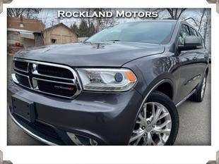 2016 Dodge Durango for sale at Rockland Automall - Rockland Motors in West Nyack NY