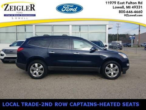 2012 Chevrolet Traverse for sale at Zeigler Ford of Plainwell- michael davis in Plainwell MI