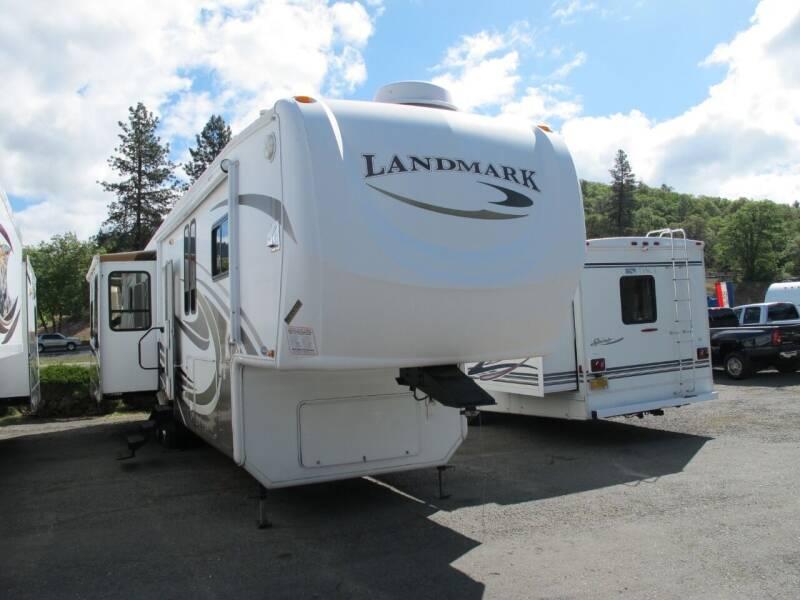 2009 LANDMARK AUGUSTA 38 QUAD SLIDE for sale at Oregon RV Outlet LLC - 5th Wheels in Grants Pass OR