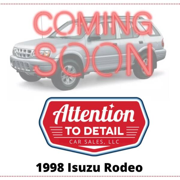 1998 Isuzu Rodeo for sale at Attention to Detail - Car Sales, LLC in Ogden UT