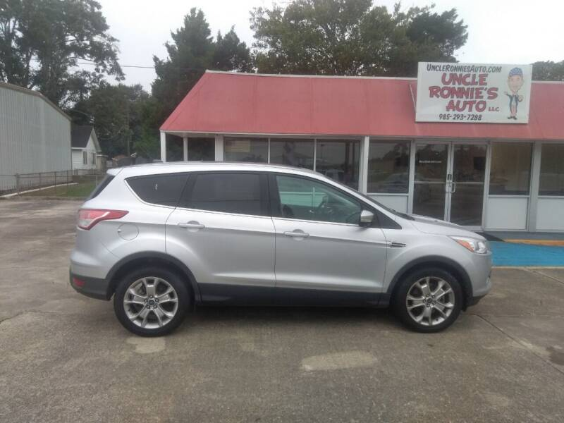 2013 Ford Escape for sale at Uncle Ronnie's Auto LLC in Houma LA