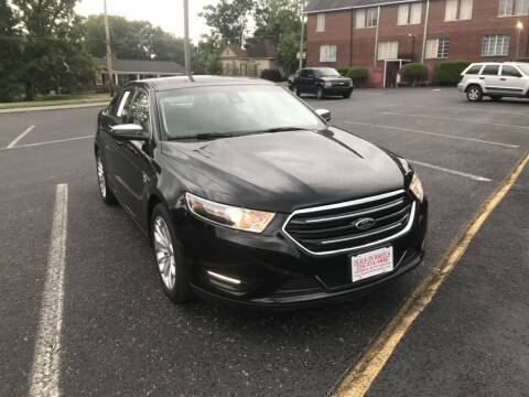 2017 Ford Taurus for sale at DEALS ON WHEELS in Moulton AL