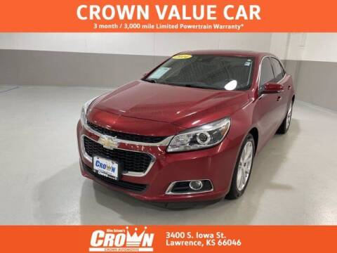 2014 Chevrolet Malibu for sale at Crown Automotive of Lawrence Kansas in Lawrence KS