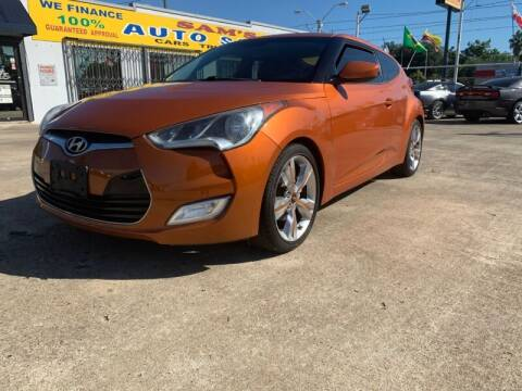 2012 Hyundai Veloster for sale at Sam's Auto Sales in Houston TX