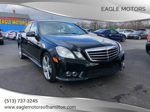 2010 Mercedes-Benz E-Class for sale at Eagle Motors in Hamilton OH