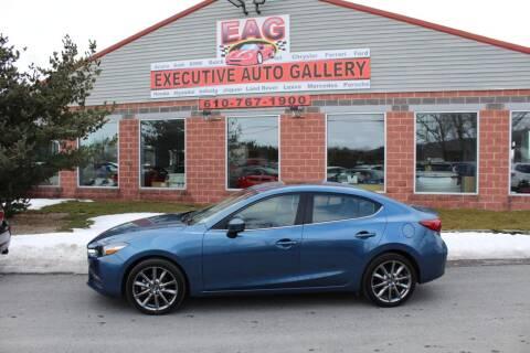 2018 Mazda MAZDA3 for sale at EXECUTIVE AUTO GALLERY INC in Walnutport PA