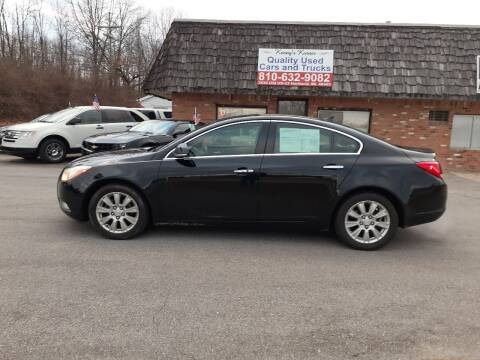 2012 Buick Regal for sale at Kenny's Korner in Hartland MI