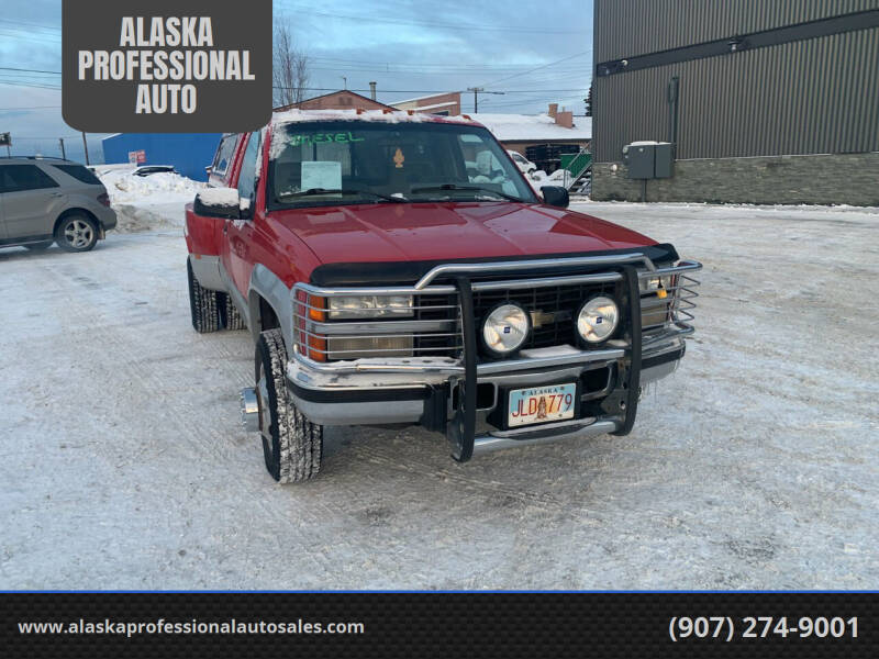 1992 Chevrolet C/K 3500 Series for sale at ALASKA PROFESSIONAL AUTO in Anchorage AK