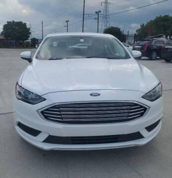 2017 Ford Fusion for sale at Julian Auto Sales, Inc. in Warren MI