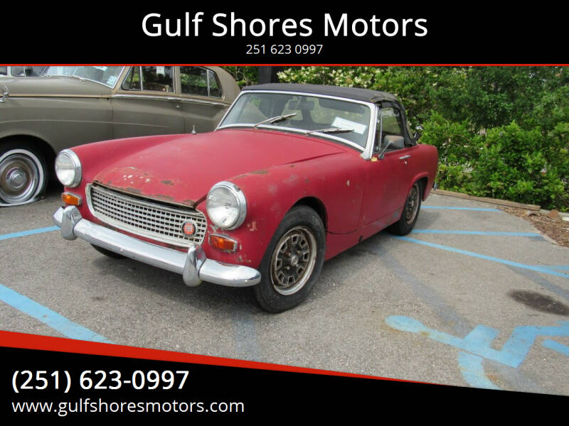 1968 Austin-Healey Sprite for sale at Gulf Shores Motors in Gulf Shores AL