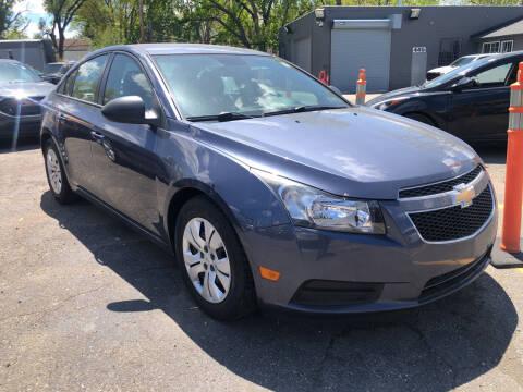 2014 Chevrolet Cruze for sale at Champs Auto Sales in Detroit MI