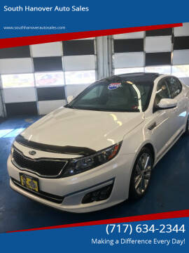 2014 Kia Optima for sale at South Hanover Auto Sales in Hanover PA
