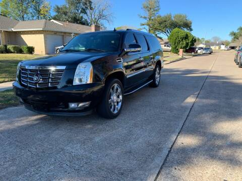 2008 Cadillac Escalade ESV for sale at Demetry Automotive in Houston TX