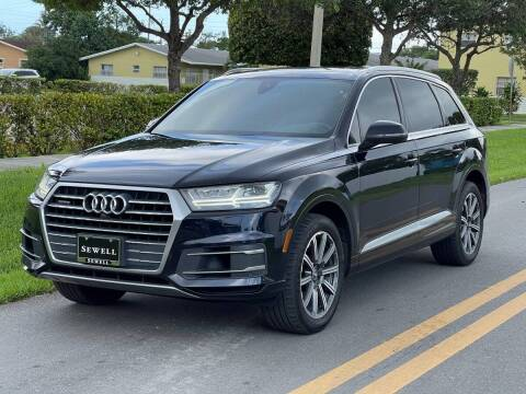 2017 Audi Q7 for sale at GTR Motors in Davie FL