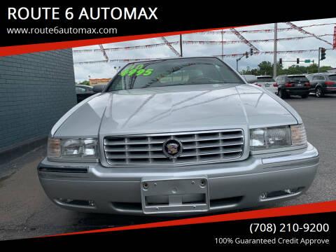 2002 Cadillac Eldorado for sale at ROUTE 6 AUTOMAX in Markham IL