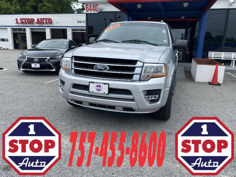 2015 Ford Expedition EL for sale at 1 Stop Auto in Norfolk VA