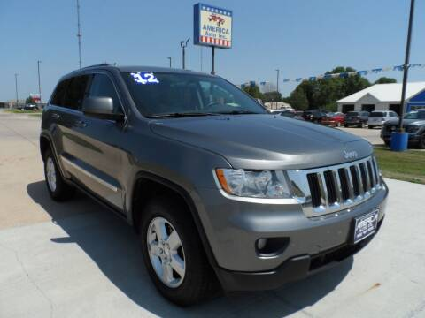 2012 Jeep Grand Cherokee for sale at America Auto Inc in South Sioux City NE