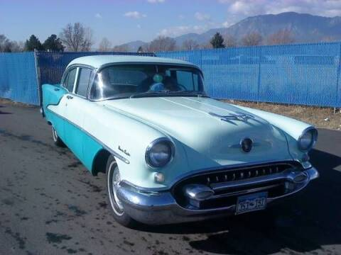 1955 Oldsmobile Ninety-Eight for sale at Classic Car Deals in Cadillac MI