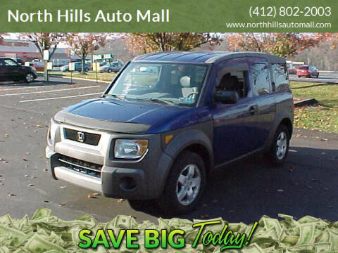 2004 Honda Element for sale at North Hills Auto Mall in Pittsburgh PA