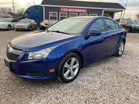 2013 Chevrolet Cruze for sale at Y City Auto Group in Zanesville OH