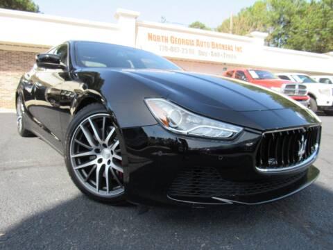 2015 Maserati Ghibli for sale at North Georgia Auto Brokers in Snellville GA