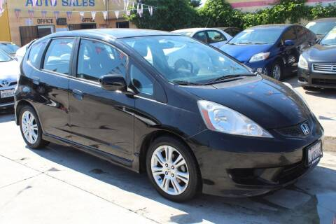2009 Honda Fit for sale at Good Vibes Auto Sales in North Hollywood CA