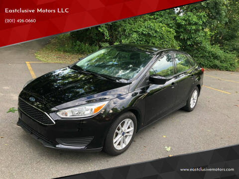 2018 Ford Focus for sale at Eastclusive Motors LLC in Hasbrouck Heights NJ