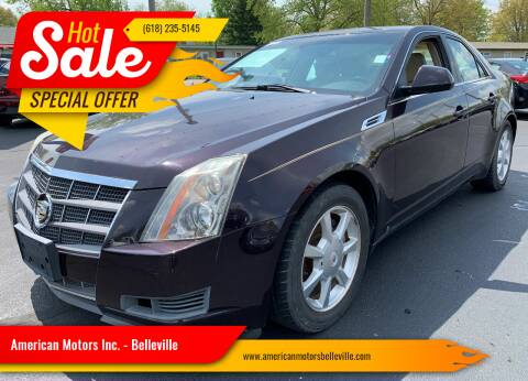 2008 Cadillac CTS for sale at American Motors Inc. - Belleville in Belleville IL