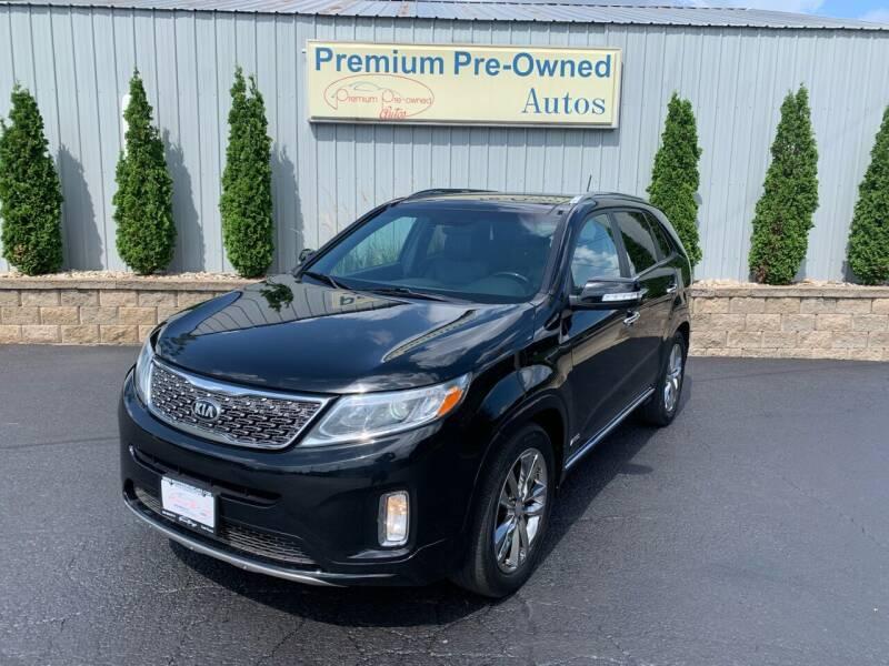 2015 Kia Sorento for sale at PREMIUM PRE-OWNED AUTOS in East Peoria IL