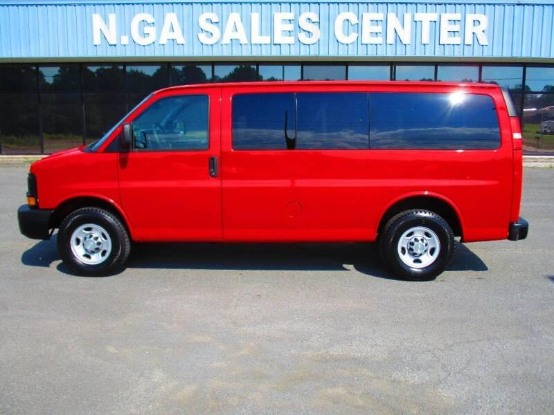 2010 Chevrolet Express Passenger for sale at NORTH GEORGIA Sales Center in La Fayette GA