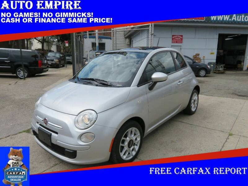 2012 FIAT 500 for sale at Auto Empire in Brooklyn NY