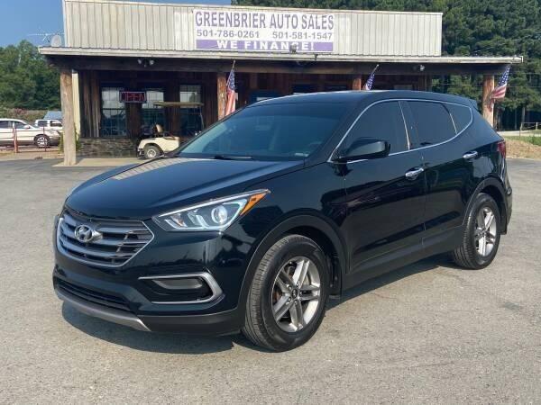 2017 Hyundai Santa Fe Sport for sale at Greenbrier Auto Sales in Greenbrier AR