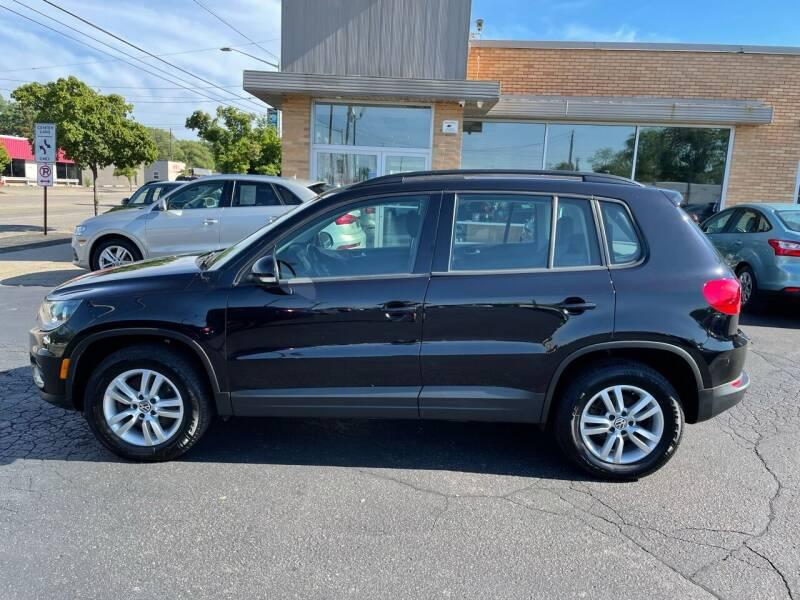 2015 Volkswagen Tiguan for sale at Auto Sport INC in Grand Rapids MI