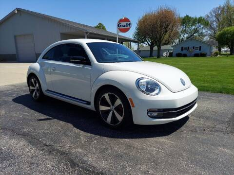 2012 Volkswagen Beetle for sale at CALDERONE CAR & TRUCK in Whiteland IN