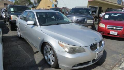 2007 BMW 5 Series for sale at Affordable Auto Inc. in Pico Rivera CA