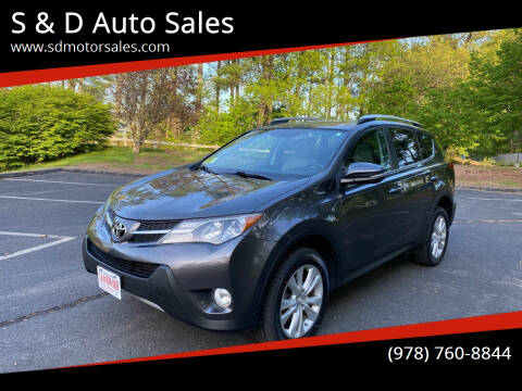 2013 Toyota RAV4 for sale at S & D Auto Sales in Maynard MA