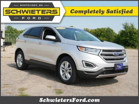 2016 Ford Edge for sale at Schwieters Ford of Montevideo in Montevideo MN