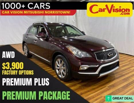 2017 Infiniti QX50 for sale at Car Vision Buying Center in Norristown PA