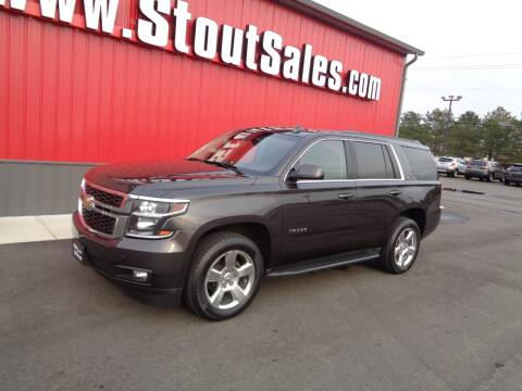 2016 Chevrolet Tahoe for sale at Stout Sales in Fairborn OH