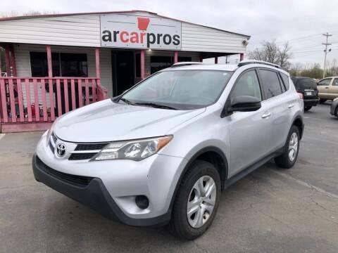 2014 Toyota RAV4 for sale at Arkansas Car Pros in Cabot AR