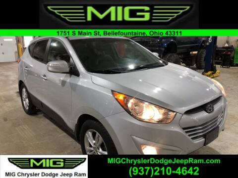 2013 Hyundai Tucson for sale at MIG Chrysler Dodge Jeep Ram in Bellefontaine OH