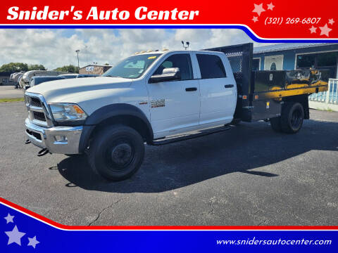 2016 RAM Ram Chassis 4500 for sale at Snider's Auto Center in Titusville FL